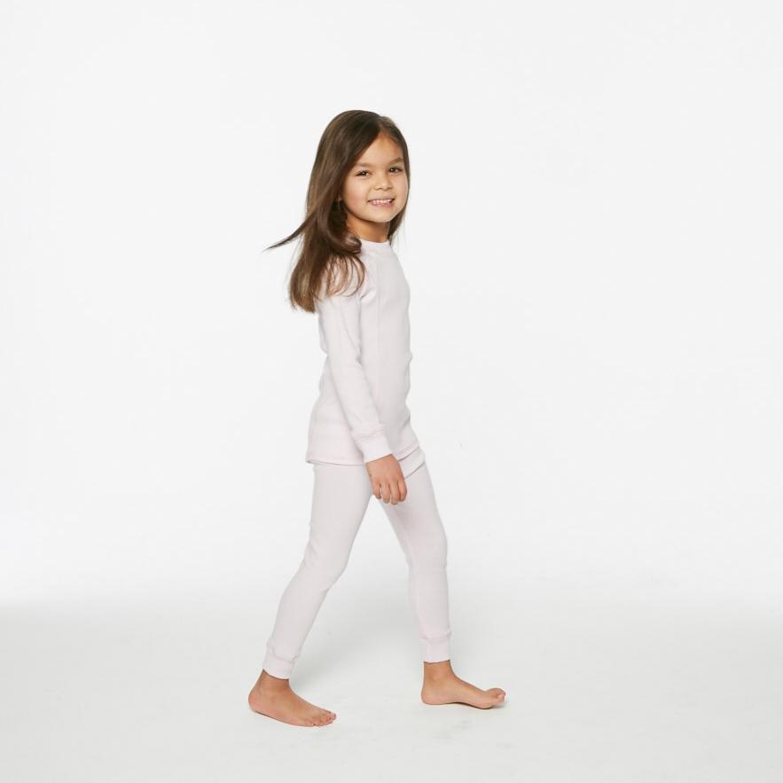 G'day Baby Organic Long Pajama Set Pink  $50