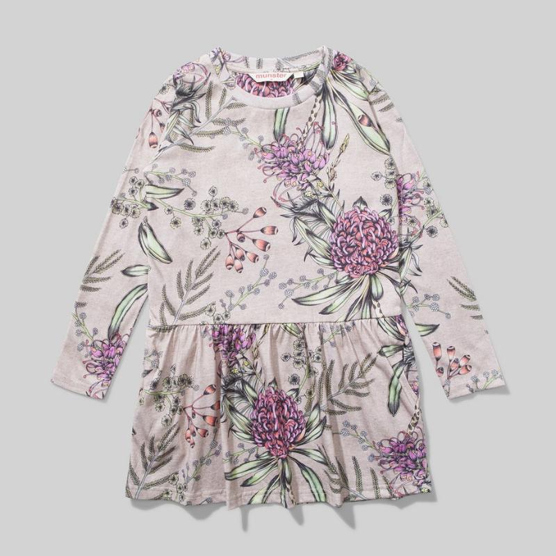 Munster Kids Missy Munster Floral Dress  $59.95