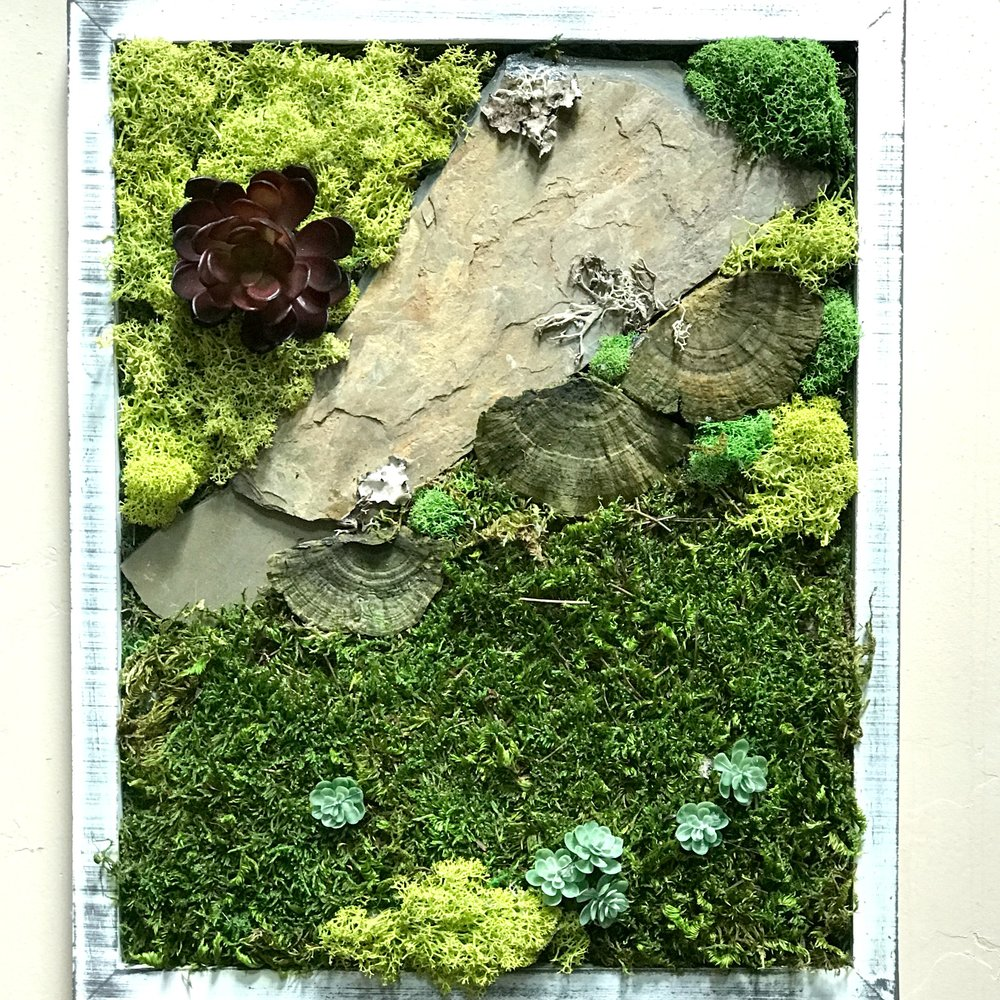 LIVING WALL ART -