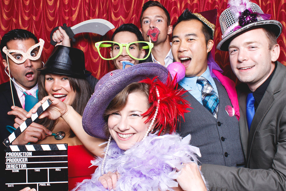 Sir Francis Drake Hotel, SF. Spark Fundraiser photo booth