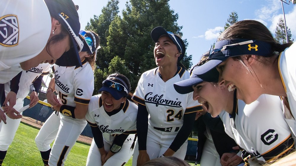 Softball - Softball began intercollegiate competition at the University of California in 1972. It won its first National Championship in 2002,along with 6 conference championships.