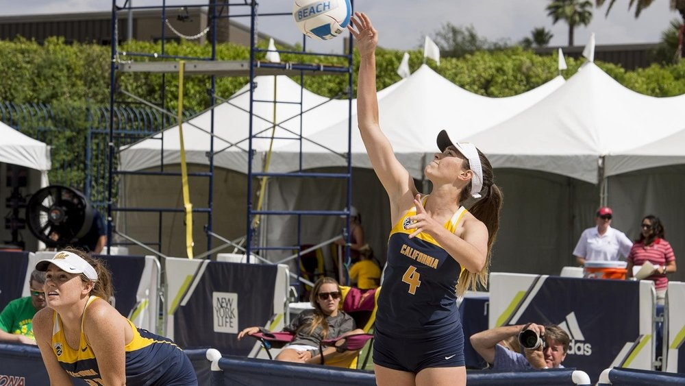Beach Volleyball - Beach Volleyball is Cal's newest varsity sport, which began intercollegiate competition in 2014. Originally referred to as