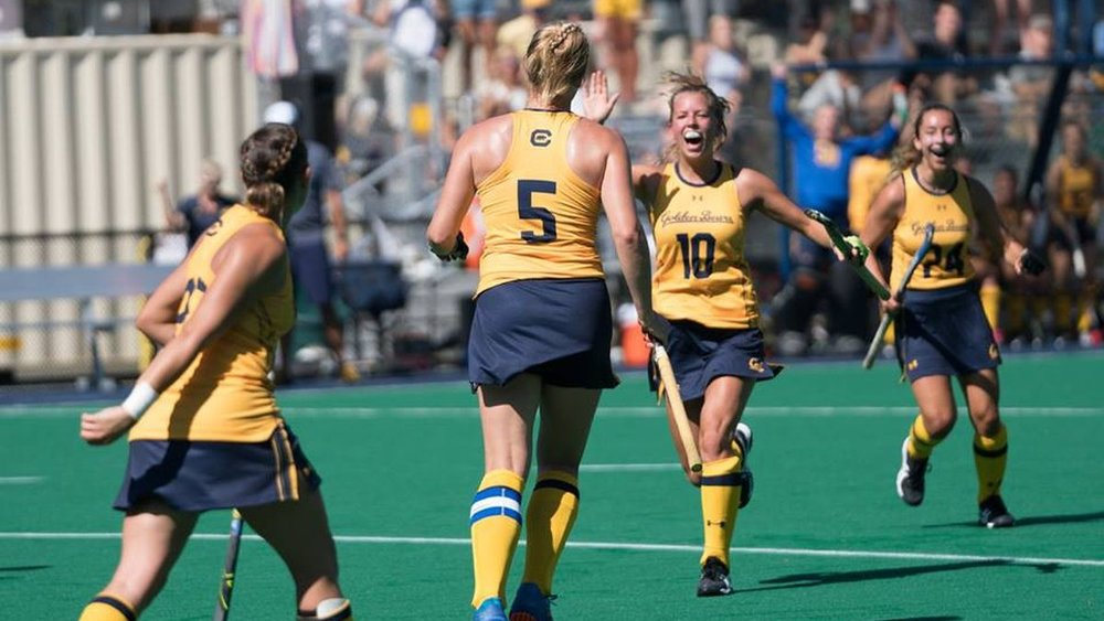 Field Hockey - Women's field hockey began intercollegiate competition at the University of California in 1976 and since then has won 15 conference championships.