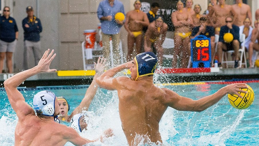 Water Polo - Water polo began intercollegiate competition at the University of California in 1918 and is among the most decorated of Cal's sports teams. Women's intercollegiate competition began in 1996.Its men's and women's teams have won 14 national championships including those in 2006, 2007, and 2016, along with 35 conference championships. Individual athletes also won bronze and silver medals competing in water polo in the past two summer Olympics in Rio de Janeiro and London.