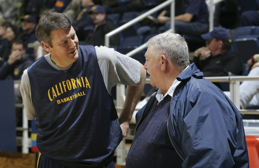 "Jim Beatie (1984-1988) and former CAL trainer Bob ""Boss"" Orr"