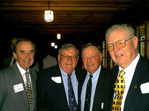 "Honorary Member, Past President Big C Society  Social Chairman Cal Bullpen Golf Tournament  Helped raise thousands of dollars for Cal Baseball  Instrumental in putting Cal Football on radio in Southern California  Helped organize Big C ""FriendRaisers"" in Southern California  Major player in the Big C Hall of Fame Banquets"
