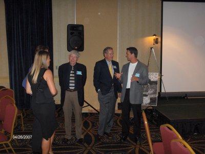 Jennifer Joyce, Bob Steiner, Monte Upshaw, and Bryan Fetzer