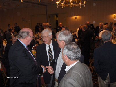Roger Olsen, Larry Baack, Mike Gridley, and Ed Flynn