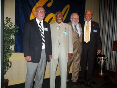 Jack Yerman, Willie White ,Maynard Orme, and Don