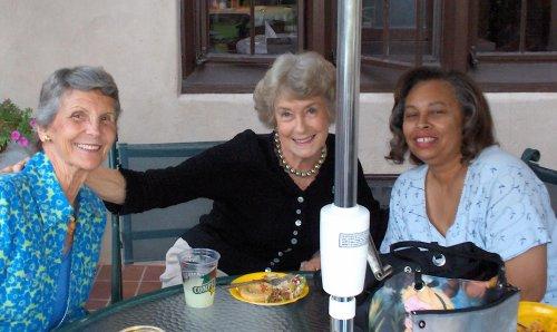 more pretty women !!  Nancy Ditzler, Mary Ricksen, and Gwen Hart