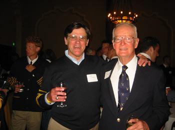 Dan Lufkin and Ken Cusick