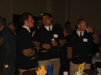 Members of Cal's 2005 National Championship Rugby Team