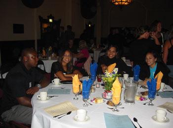 Senior Athletes enjoying banquet in their honor