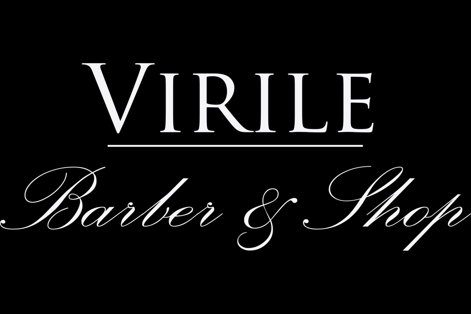 VIRILE BARBER SHOP