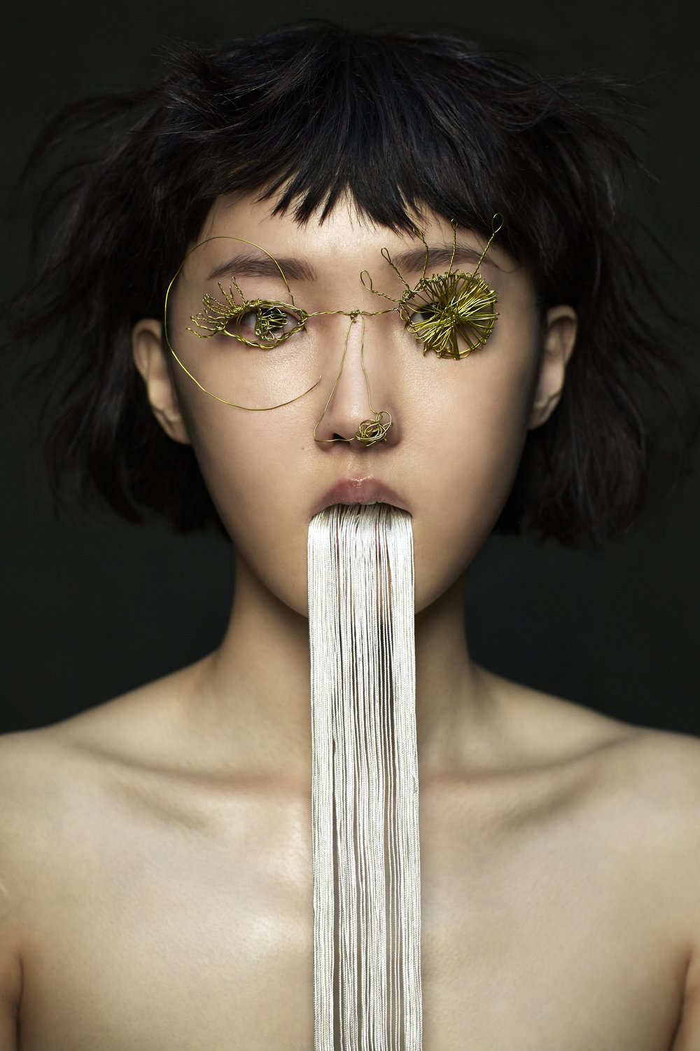 Model: Sujin Park  Make Up Artist: Caitlin Wooters  Hair Stylist: Akihisa Yamaguchi