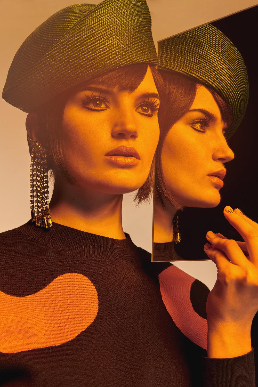 Model: Hannah Novak  Make Up Artist: Caitlin Wooters  Hair Stylist: Katya Zemtsova  Stylist: Jenn Park Krulik
