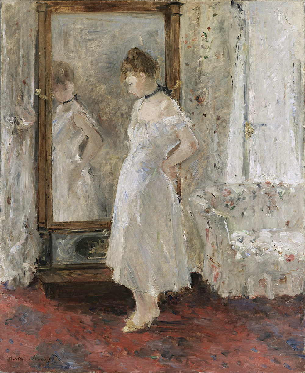 """The Psyche"" by Berthe Morisot"