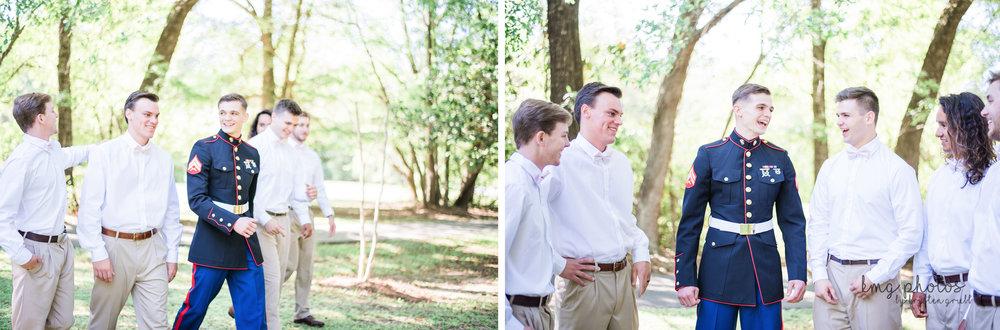 Alabama Backyard Wedding Photographed by Kristen Grubb Photography