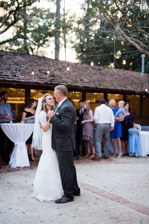 Church Wedding + Mobile Botanical Gardens Reception Photographed by Kristen Grubb Photography