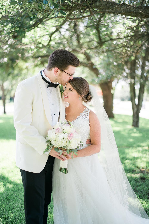 Christ United Methodist Church Wedding + Spring Hill College Reception by Kristen Grubb Photography