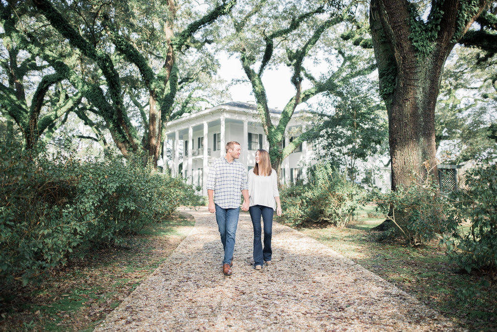 Bragg Mitchell Mansion Engagement Photoshoot by Kristen Grubb Photography
