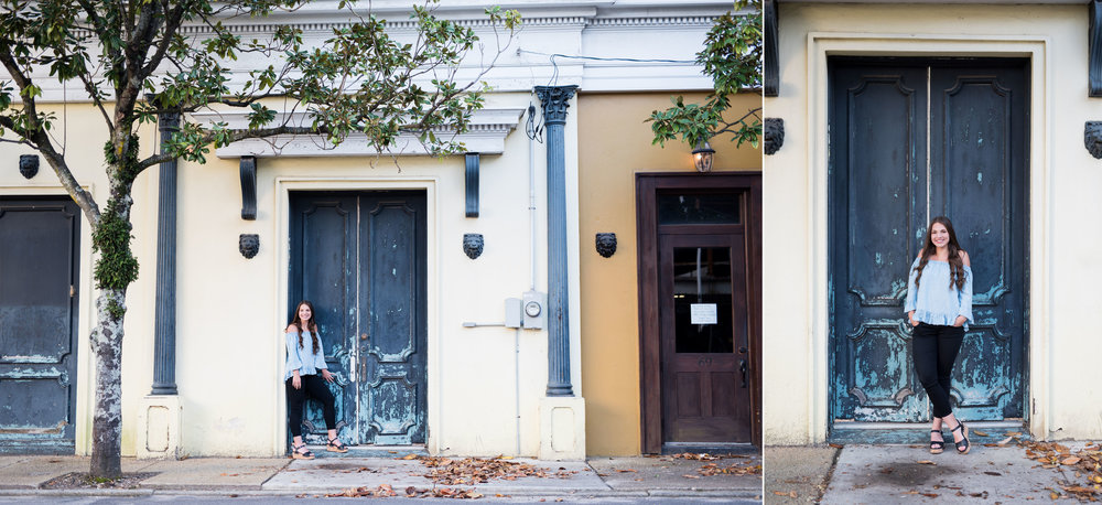 Downtown Mobile AL Senior Session by Kristen Grubb Photography