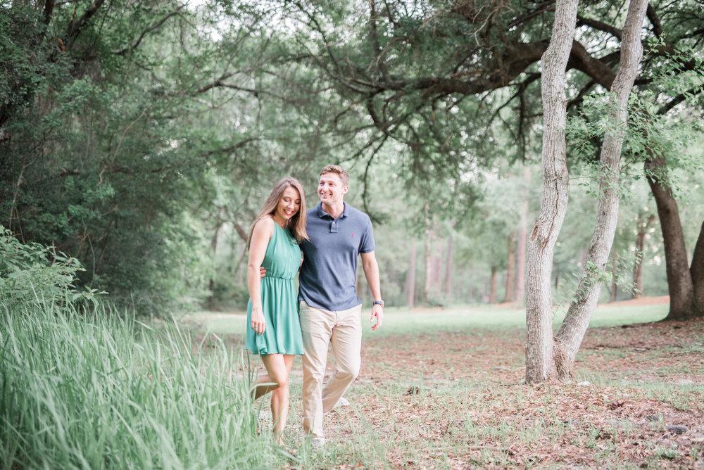 Sydnee + Troy - The University of Mobile Engagement Photoshoot