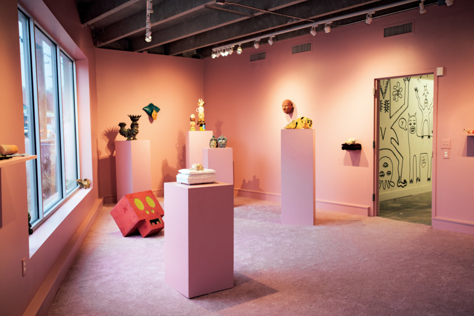 'Ugly Clay' at Elephant Gallery, Nashville Scene