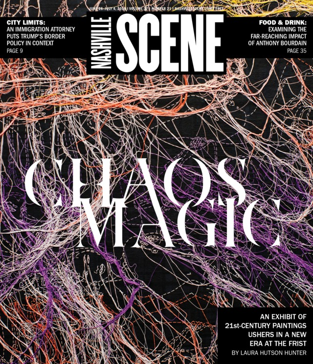 Chaos and Awe  at the Frist cover story, Nashville Scene