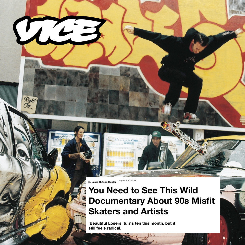 Alleged Gallery and the 10-Year Anniversary of 'Beautiful Losers,' VICE