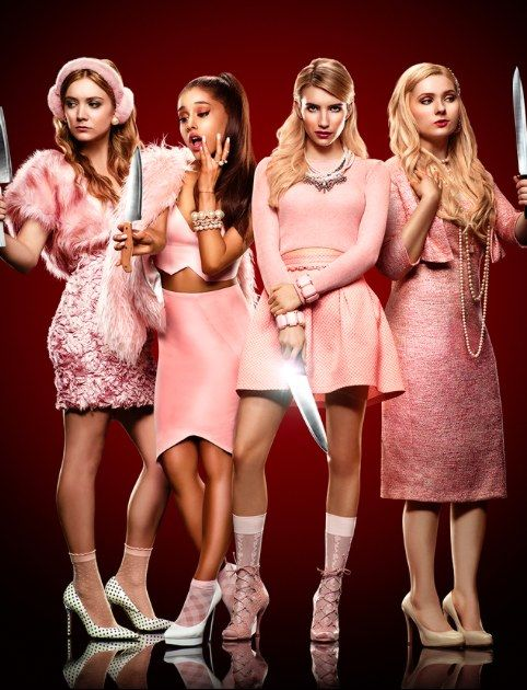 """The Chanels"" in hit series Scream Queens"