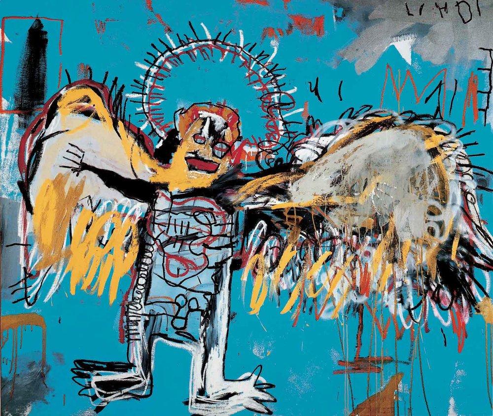 Art by Jean-Michel Basquiat