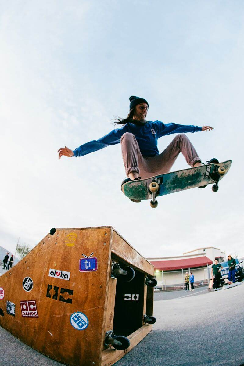 Photo credit: Nam-Chi Van / Sk8bae  Shredder: Ashley Masters