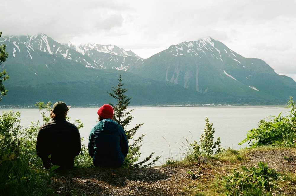 Friends. (Seward, Alaska)