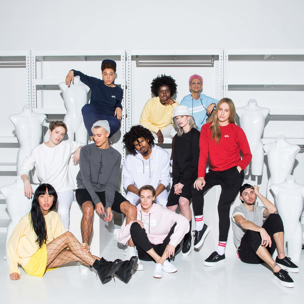 The Phluid Project is the world's first gender-free store™. Through self-expression, The Phluid Project empowers individuals to explore identity.