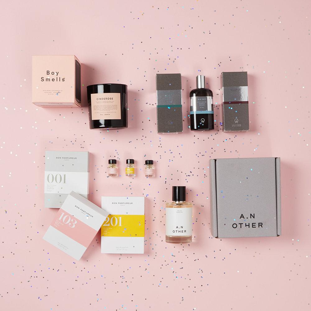 FRAGRANCES - Boy Smells Candle - $29Abbott Fragrances - $65A.N Other Perfumes - $95