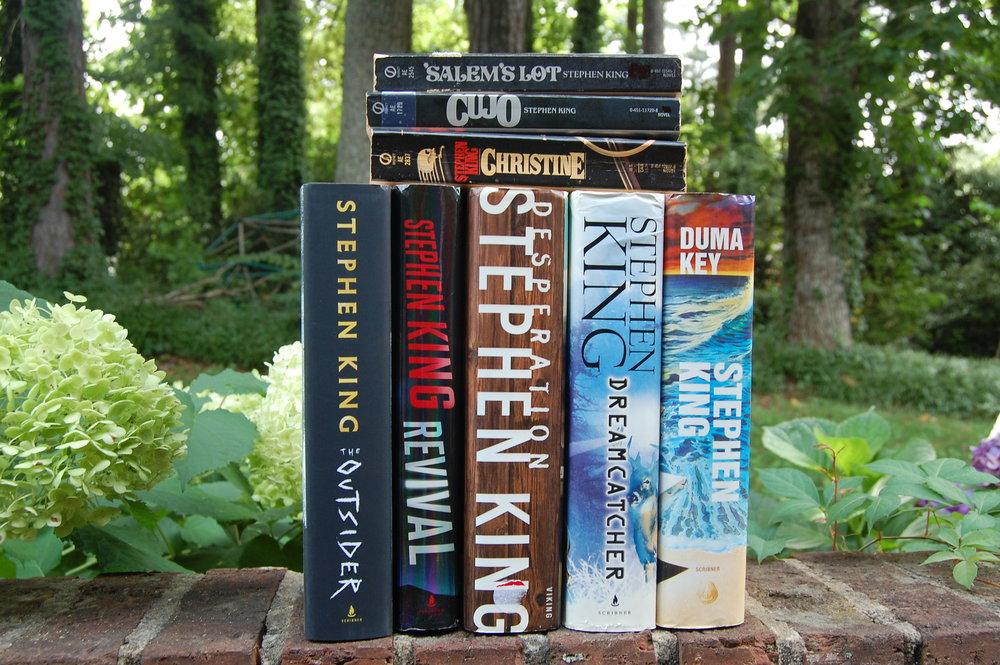 Stephen King Shelfie