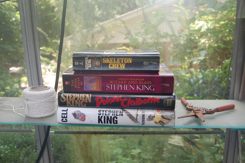 Stephen King Book Stack