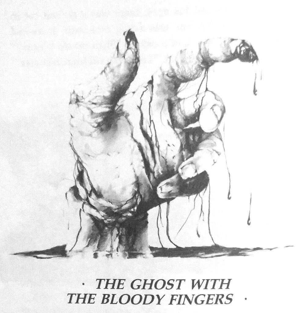 The Ghost With The Bloody Fingers