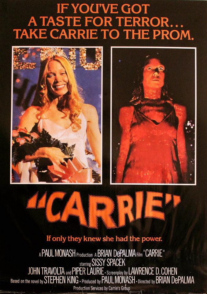 Carrie 1976 Brian dePalma Sissy Spacek