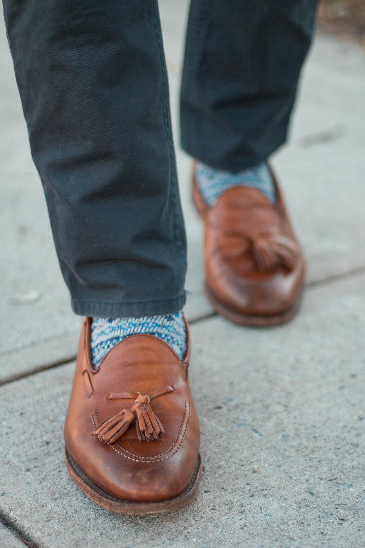Allen Edmonds Acheson Tassel Loafers I got on eBay from seller Dabondo1 for $77