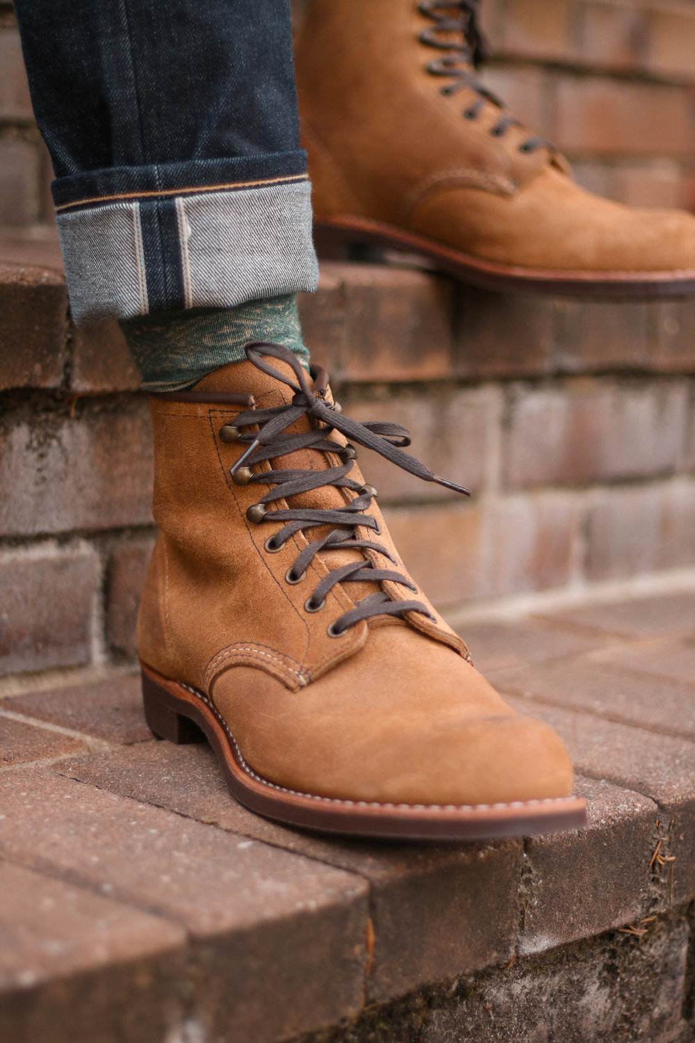 Red Wing Blacksmith Rough Out Boots for $75 from Nordstrom Rack