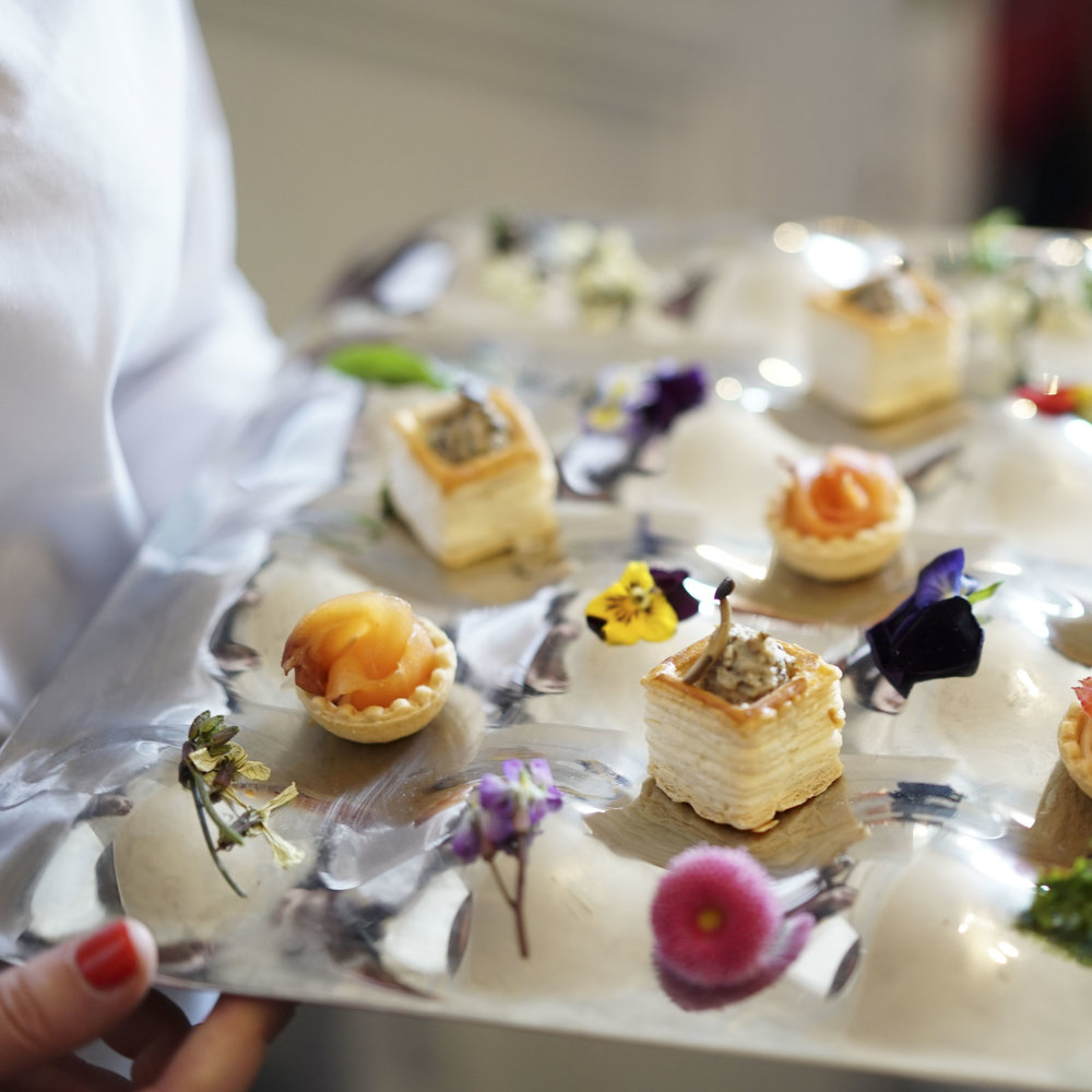 Corporate events canapes - Luxury Vol au Vent