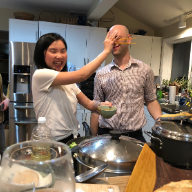 The Recipe - When Yongyi and I celebrated getting married, a lot of Chafetses were far away. When we shared pictures of the food, some Chafetses suggested the dumplings looked more delicious the matzo ball soup and challah.With