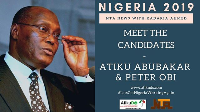 PDP Presidential Candidate, Atiku Abubakar, and PDP Vice Presidential Canadidate, Peter Obi, sit down with Kadaria Ahmed and provide a vision for a #BetterNigeria. Watch the video @ www.atikudo.com - #LetsGetNigeriaWorkingAgain.