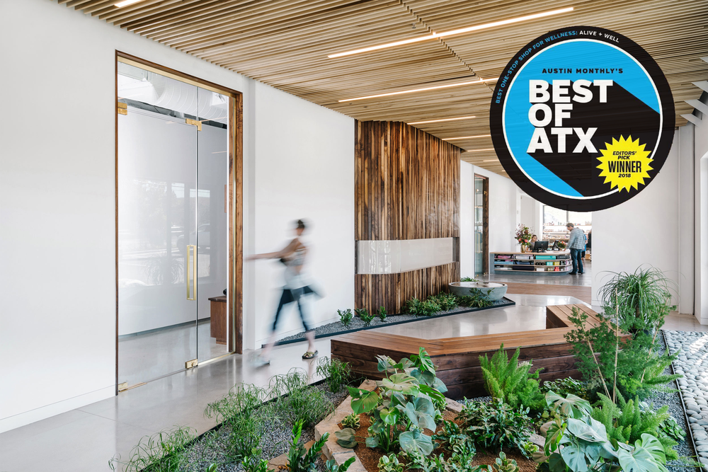Best of ATX 2018 by Austin Monthly - Best One-Stop Shop for Wellness: Alive + Well