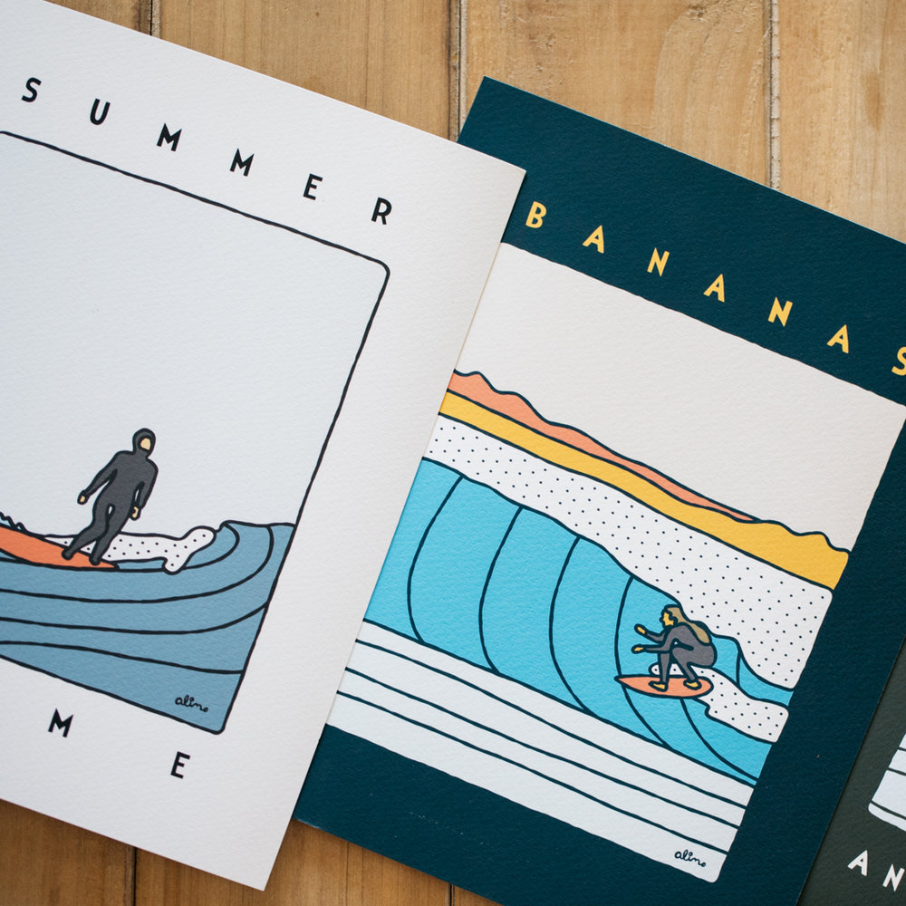 ALIMO   - Surf and art collide with spectacularly fun results.