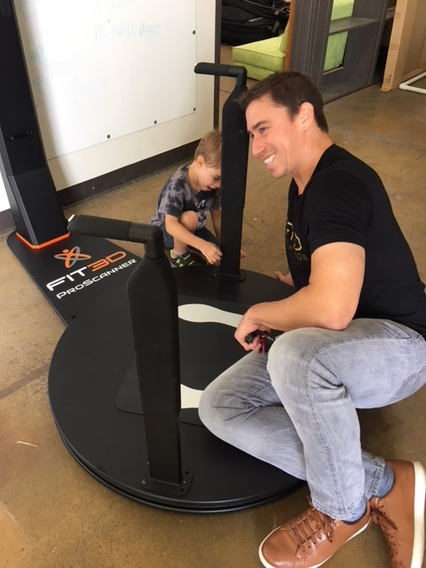 Greg's son builds a ProScanner