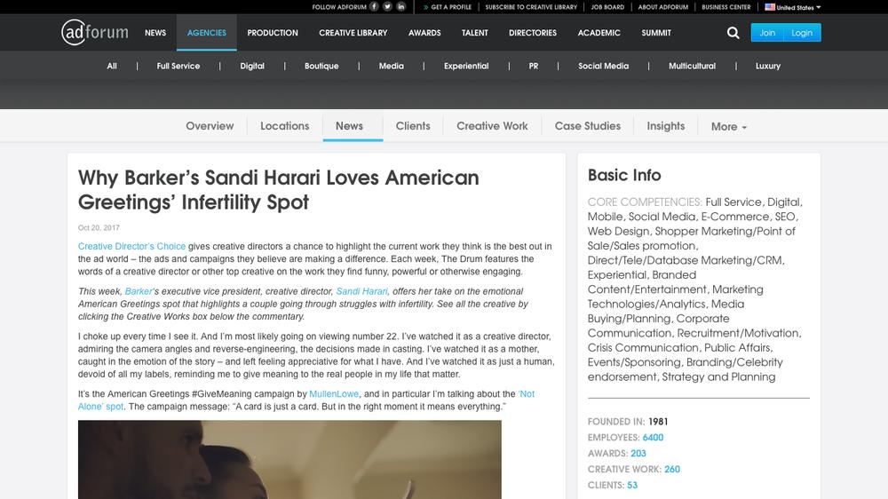 Why Barker's Sandi Harari Loves American Greetings' Infertility Spot - MullenLowe Group - Adforum.com copy.png