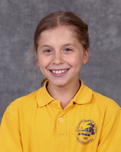 Hi, I'm Leila. I am one of the Vice Captains of the school. I am 11 years old and I have two sisters, one twin and my two wonderful parents. Some of my hobbies include: soccer, netball, gymnastics and swimming. I applied to help the school in many different ways and to make it a happier place to be. By the end of 2019 I hope that the school will be an even better place than it already is and I hope I will become more confident.